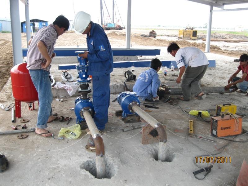 Hướng dẫn sử dụng lắp đặt máy bơm nước Pentax
