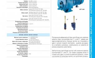 Catalogue máy bơm nước Pentax AP