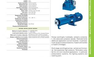 Catalogue máy bơm nước Pentax MSH